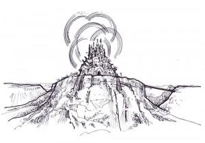 Gaerhud, the castle